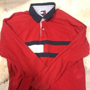 Red Tommy Long Sleeve